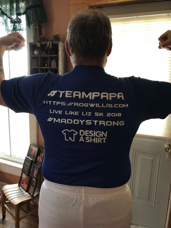 team papa back flex