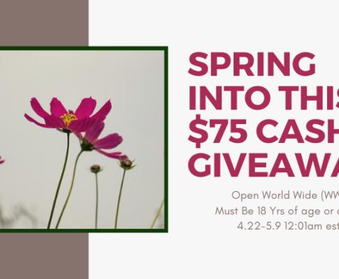 75 Cash Giveaway