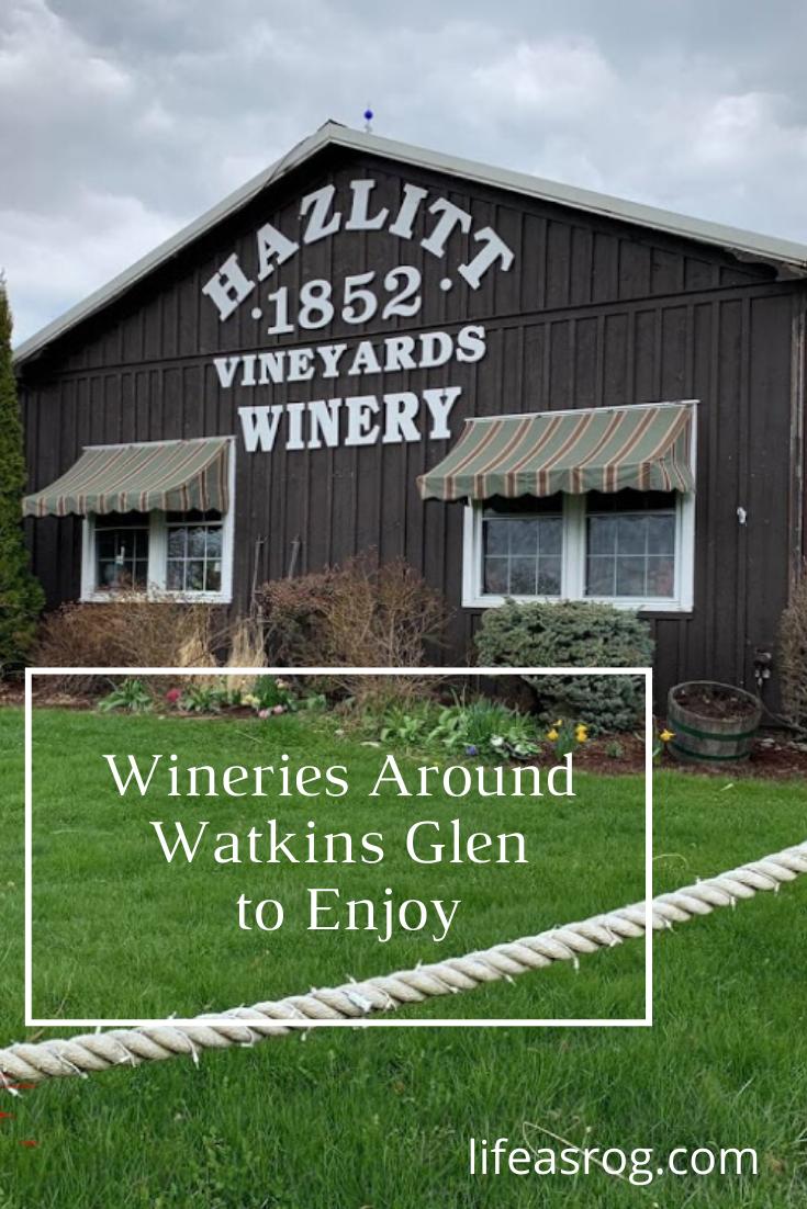 Wineries Around Watkins Glen