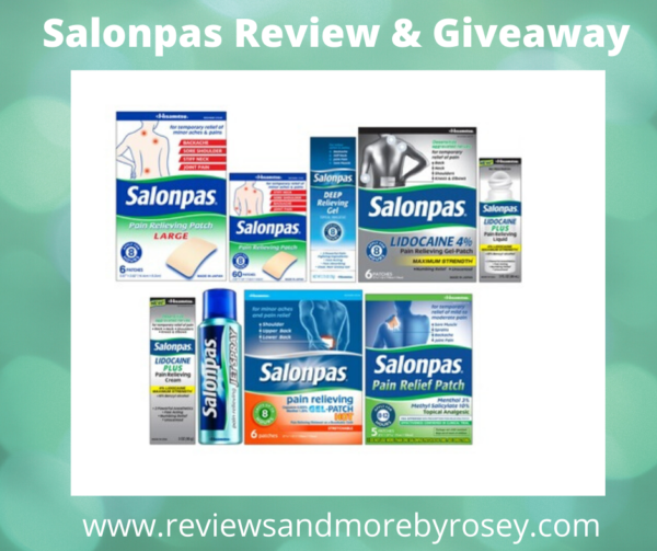 Salonpas Review & Giveaway