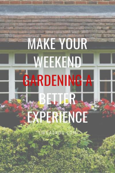 weekend gardening