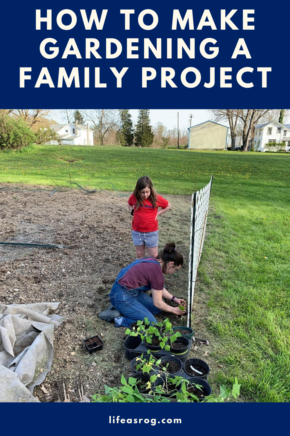 How to Make Gardening a Family Project