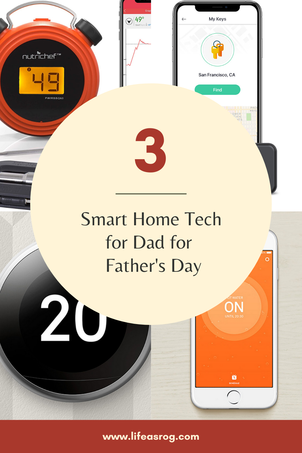Smart Home Tech for Dad for Father's Day