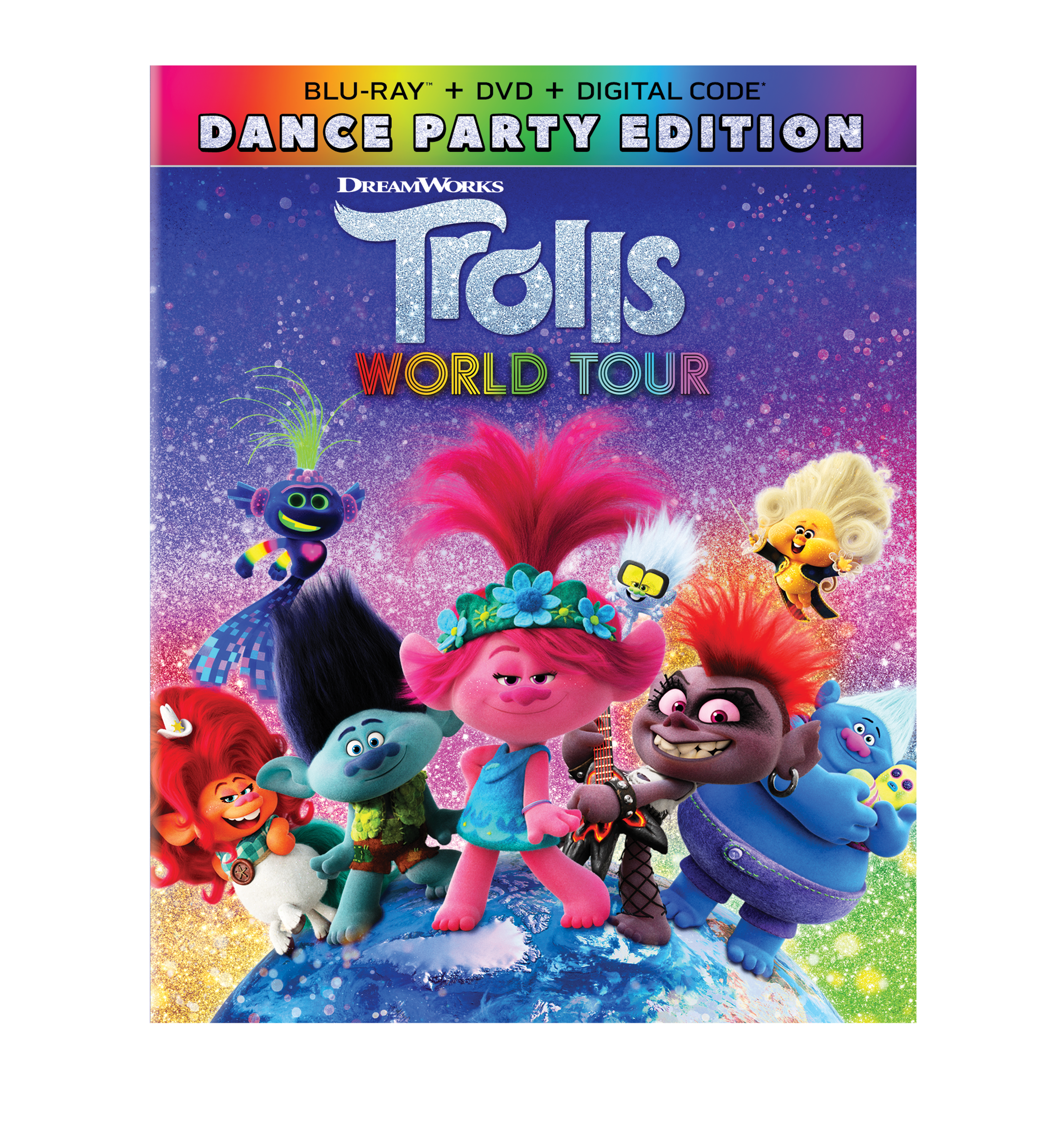 Trolls World Tour Dances Its Way onto Digital Today! + Rainbow Poppy-sicles