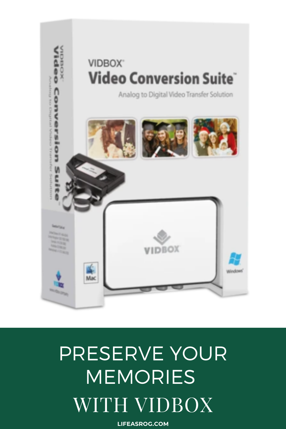 Preserve Your Memories with VIDBOX