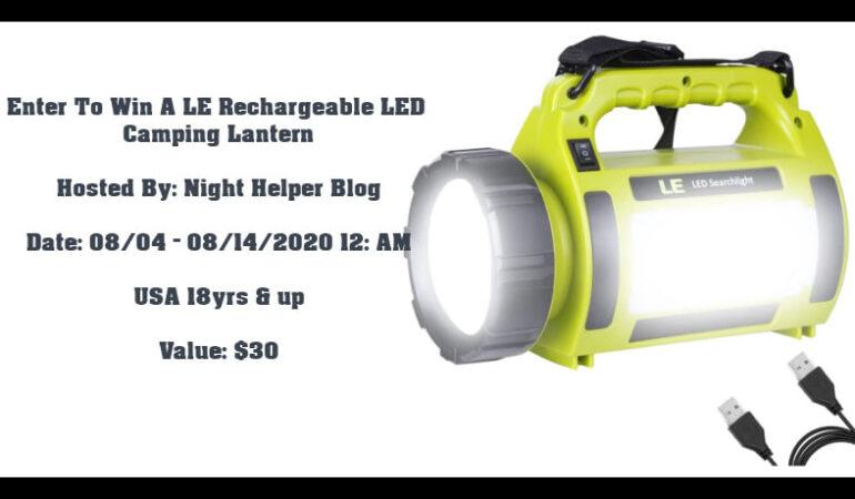 camping lantern giveaway