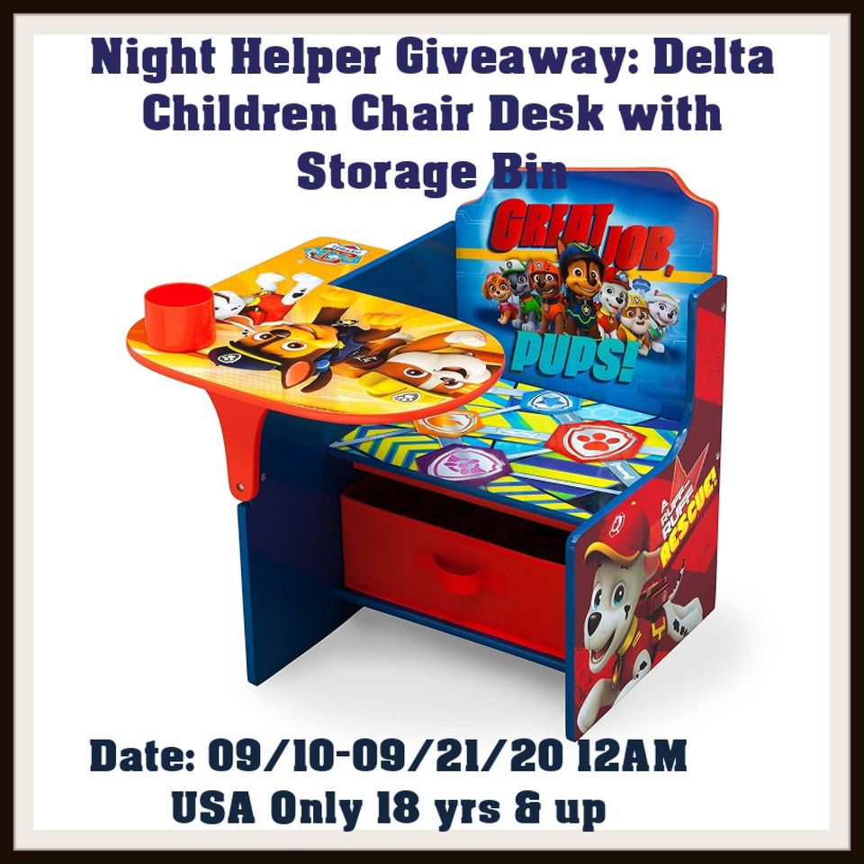 Paw Patrol Children\'s Desk Giveaway