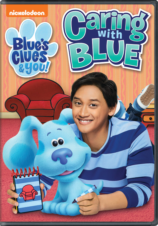 Blue\'s Clues and You: Caring with Blue DVD Giveaway