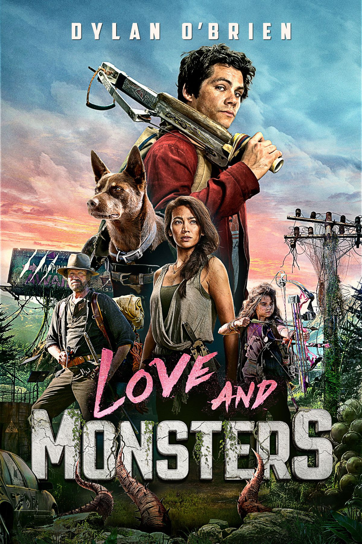 Happy New Year from Love and Monsters
