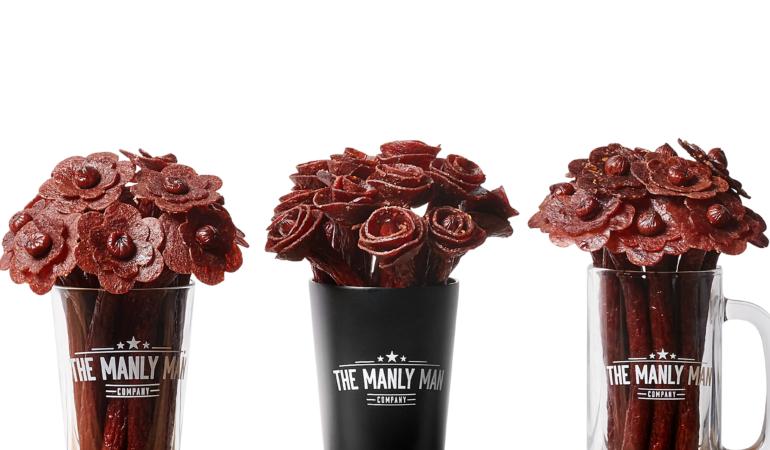 Beef Jerky Bouquet