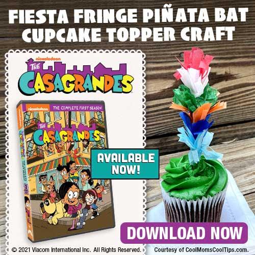 Fiesta Fringe Cupcake Topper
