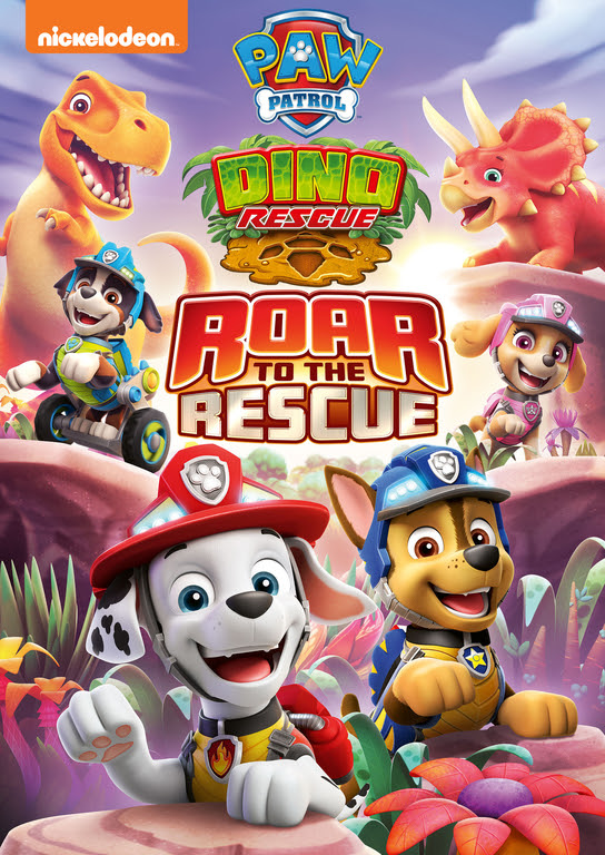 PAW Patrol: Dino Rescue Roar to the Rescue DVD Giveaway