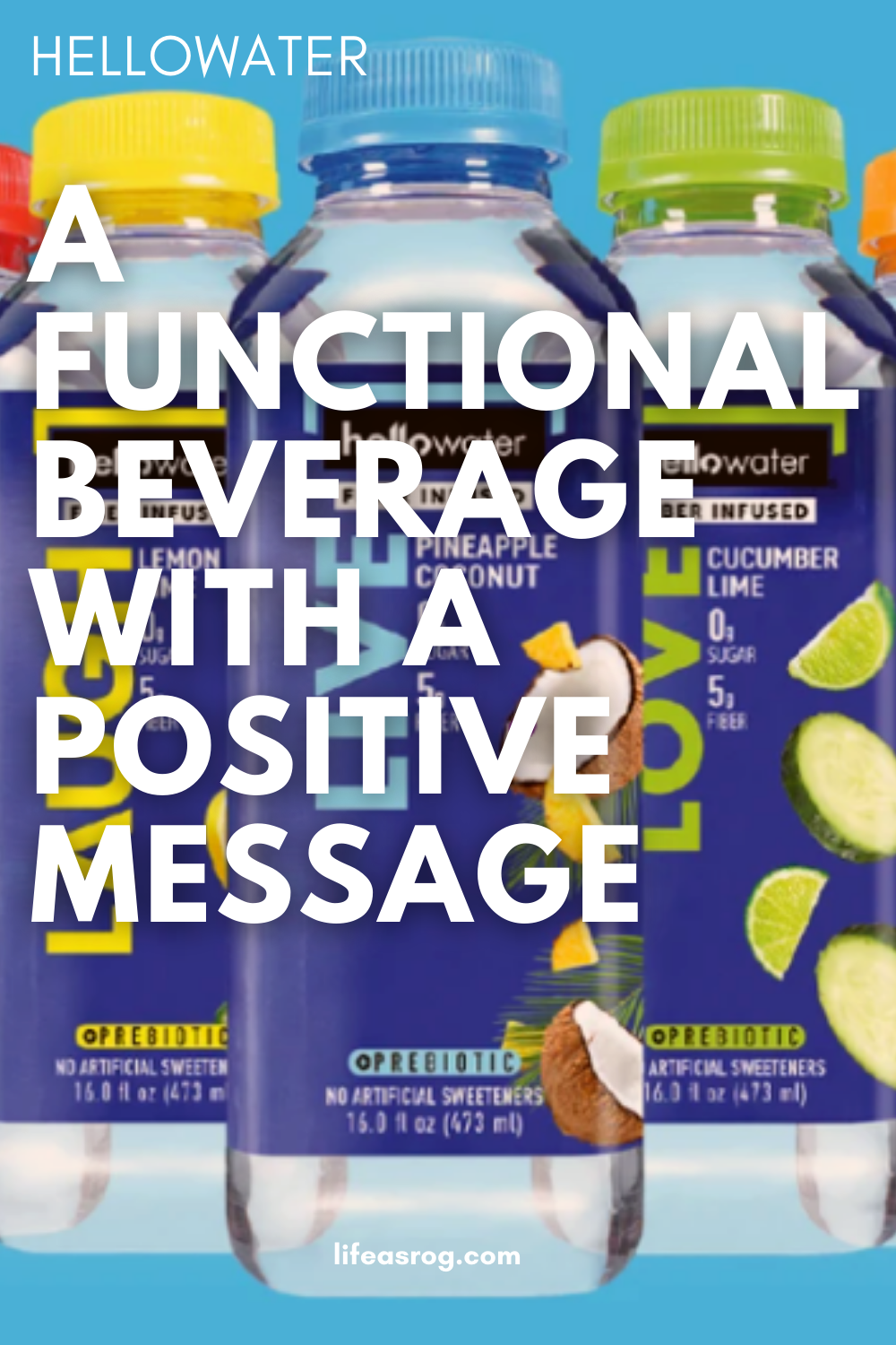 hellowater: A Functional Beverage with a Positive Message