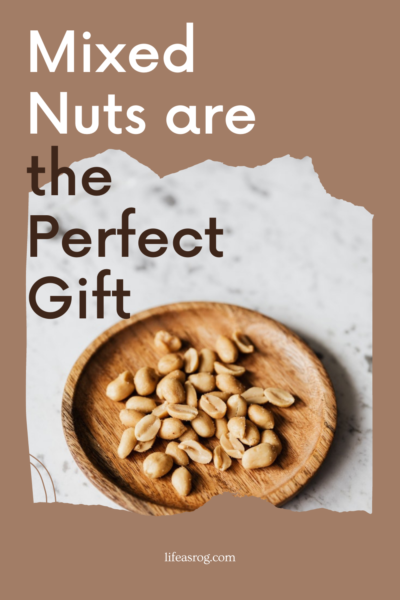 mixed nuts are the perfect snack pin