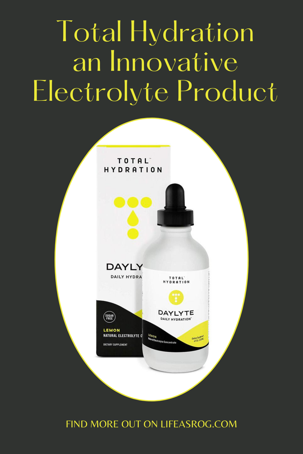 Total Hydration an Innovative Electrolyte Product