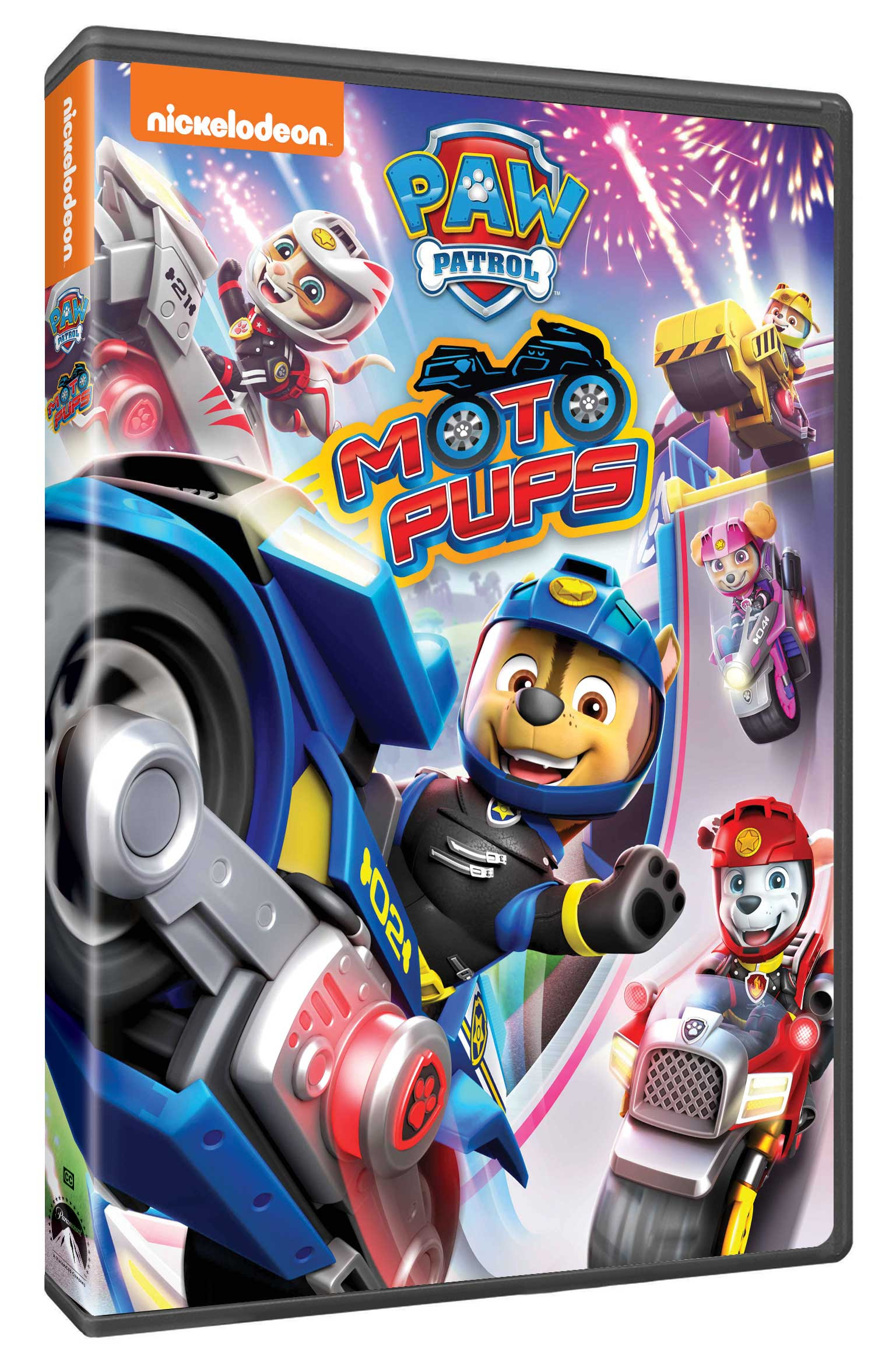 PAW Patrol: Moto Pups is coming to DVD on  June 1