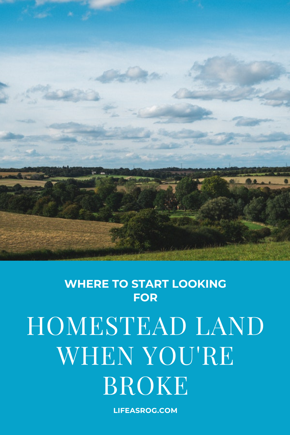 Where To Start Looking For Homestead Land When You\'re Broke