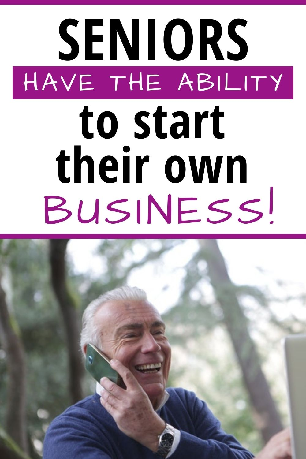 Seniors Have the Ability to Start Their Own Business