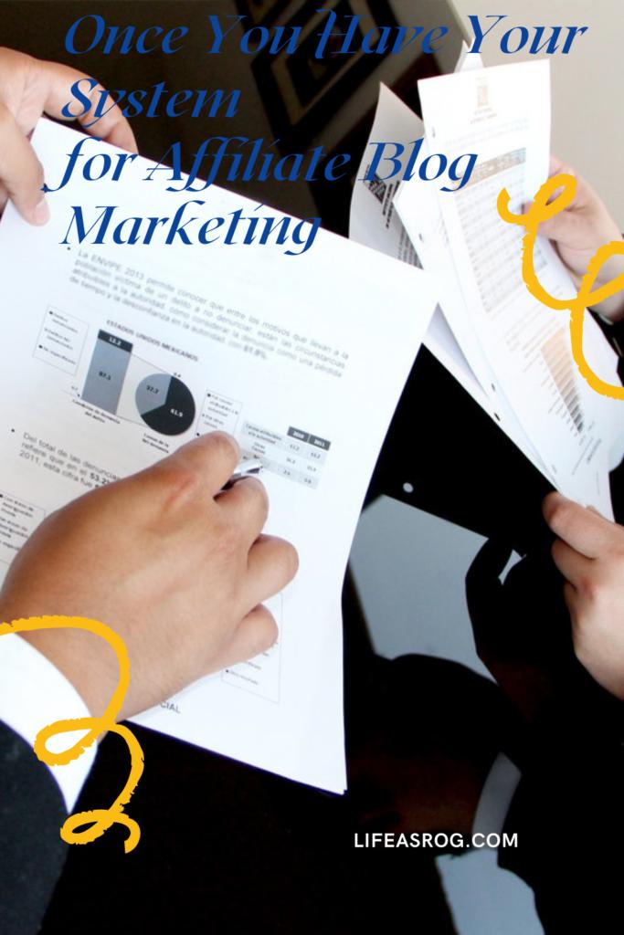 Affiliate Blog Marketing