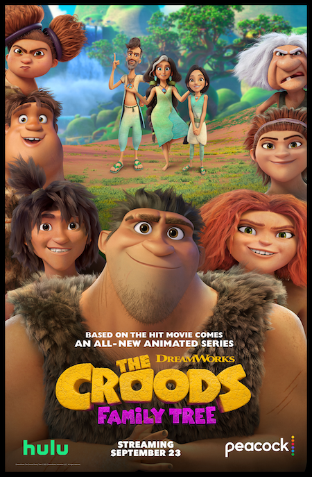 THE CROODS: FAMILY TREE FROM DREAMWORKS ARRIVES 9/23