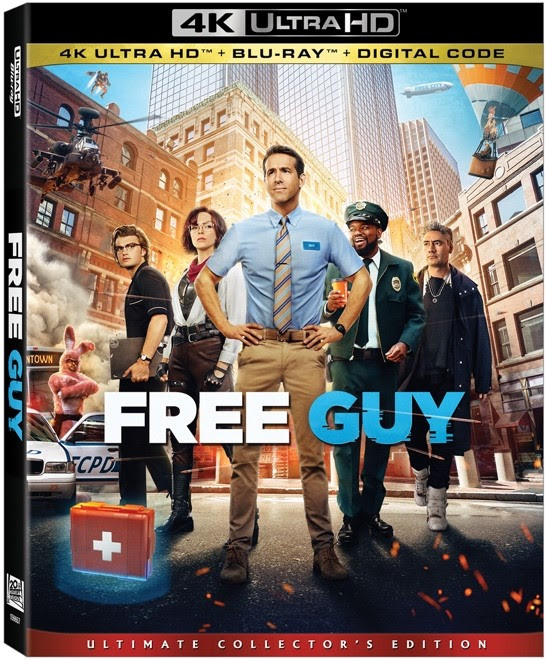 Free Guy Arriving on Digital, 9/28 4K, Blu-ray and DVD 10/12