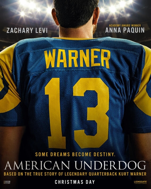 American Underdog  Teaser Trailer and Poster Available HERE!