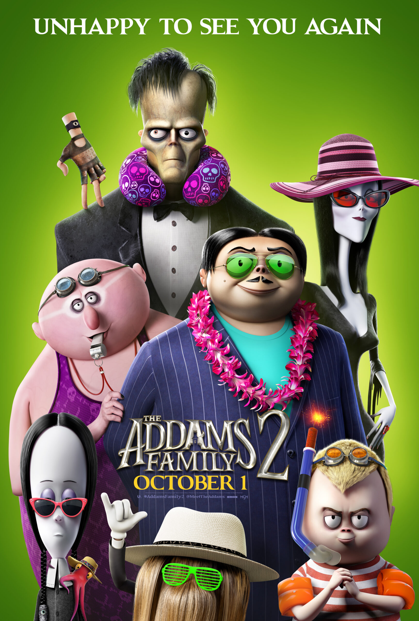 New Clip for THE ADDAMS FAMILY 2  In Theaters and On Demand